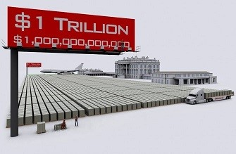 1 trillion debt