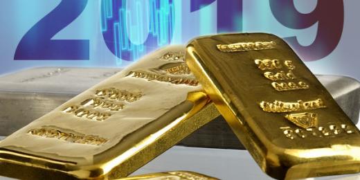 2019 gold price