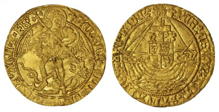 Gold Angel from Henry VIII's reign