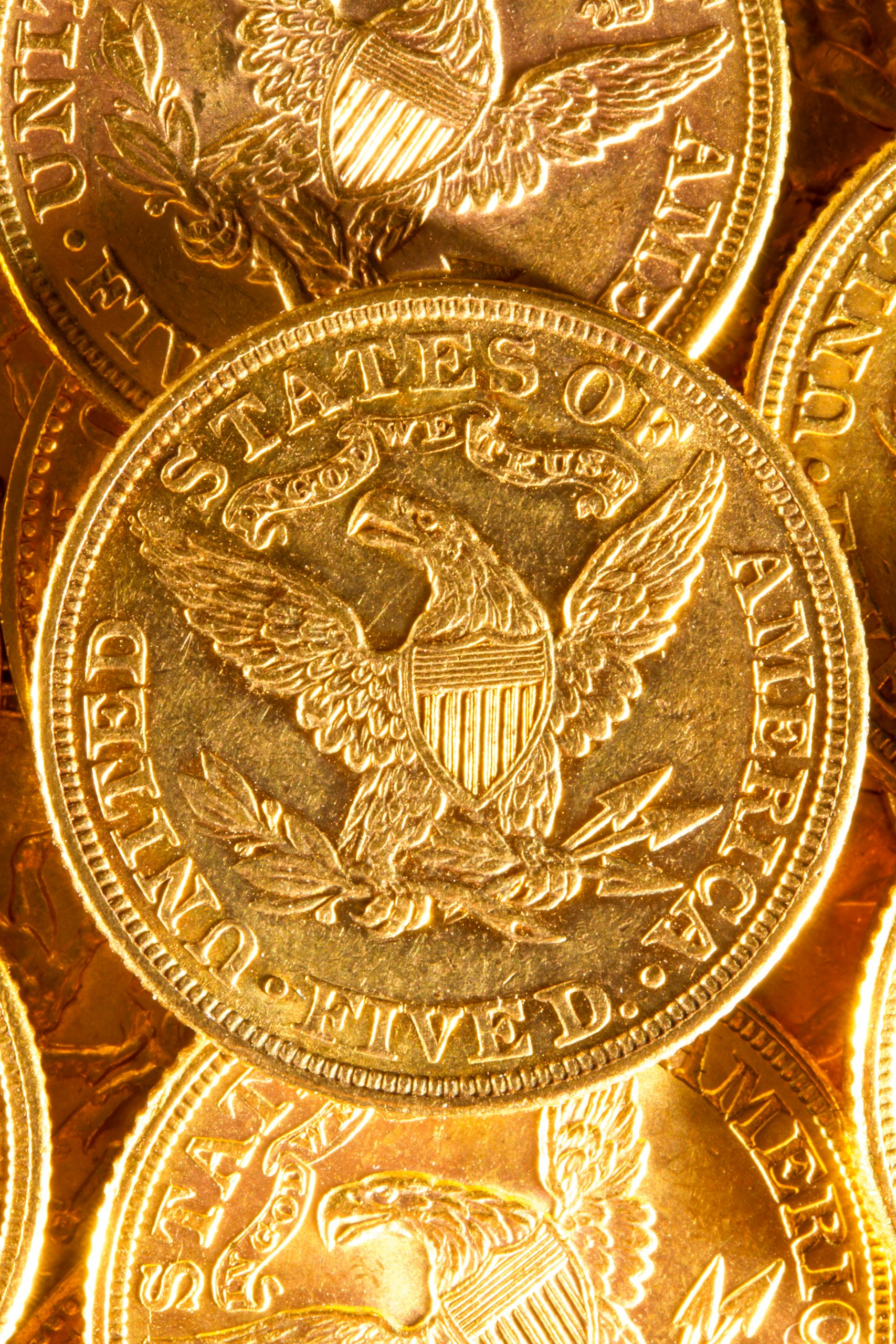 gold American eagle coins 1-10 ounce