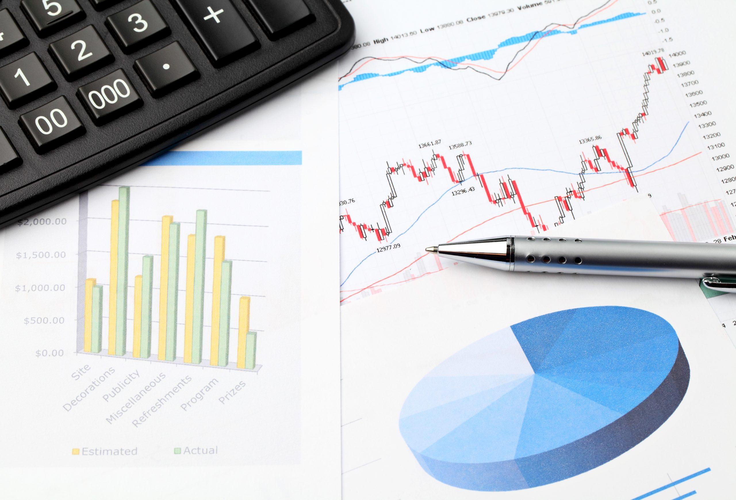 stock bond financial print outs