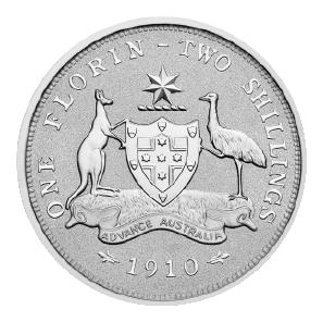 2021 Australian 2 oz. Silver Florin - back