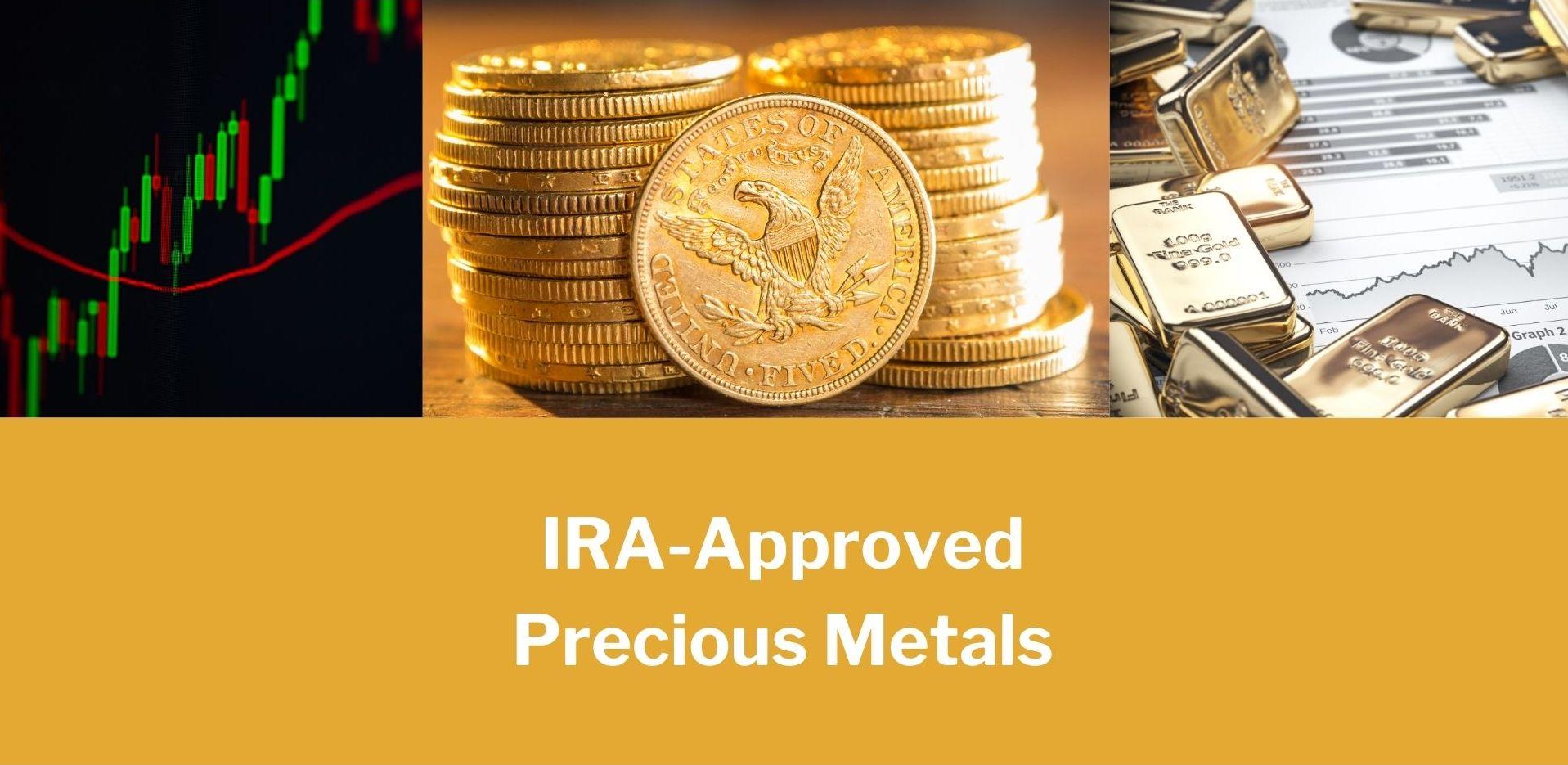IRA approved precious metals hero image