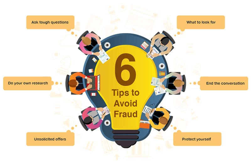 tips to avoid fraud