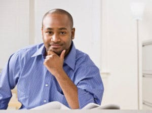 picture of african american businessman