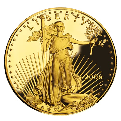 American Gold Eagle (proof) - front