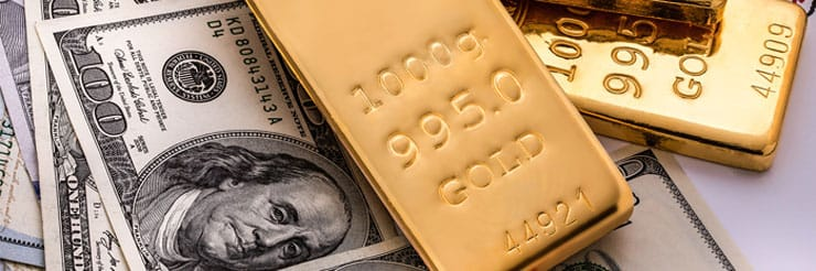 Cash purchase of Gold for physical possession
