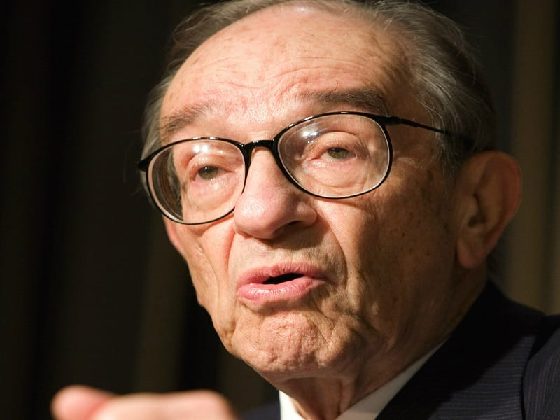 Former Fed Chair Greenspan Gold Is Good Investment QE Was Flop