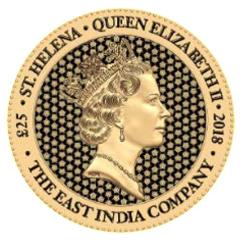 Gold Rose Crown Guinea - back