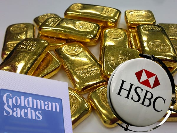 Goldman Sachs and HSBC buy gold
