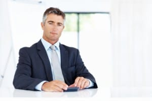 Man considering investing in silver