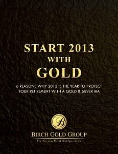 start 2013 with gold cover