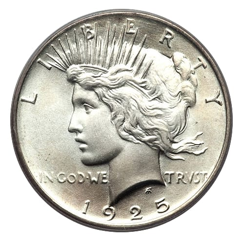 Peace Silver Dollar - front