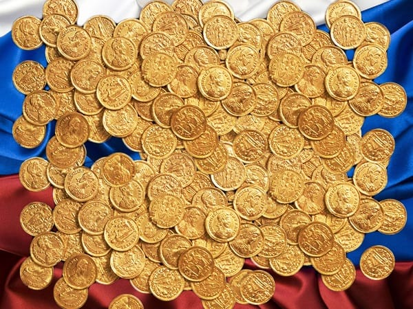 Russian now top gold buyer