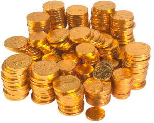 Investment In Gold | Stack of Coins