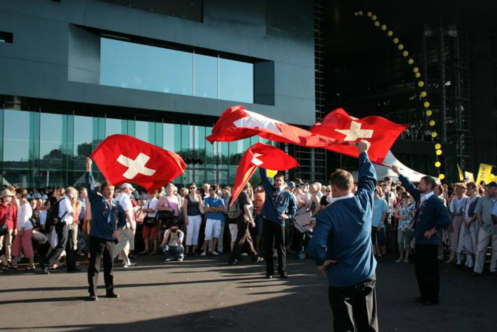 The Swiss Want Their Gold Back
