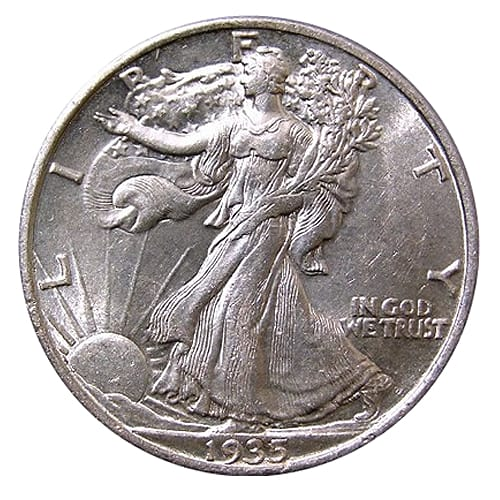 Walking Liberty Half Dollar - front