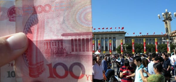 Chinese Yuan as a global currency