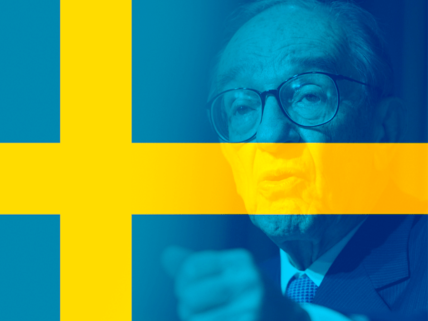 alan greenspan sweden comments