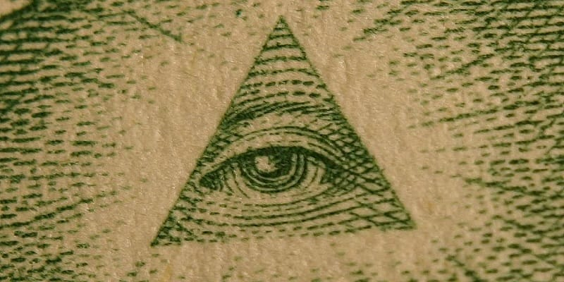dollar all seeing eye