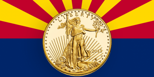 Arizona passes money is metal law