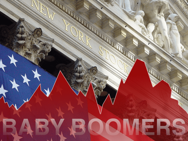 Baby boomers to sink markets