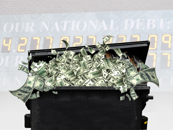 National debt at point of no return
