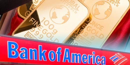 bank of america gold