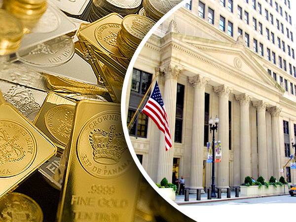 dollar sends central bank on gold buying spree