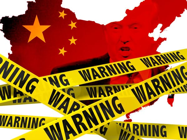 china threatens to take gloves off