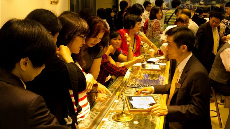 china gold demand lunar new year