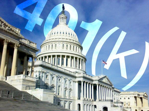 congress 401k