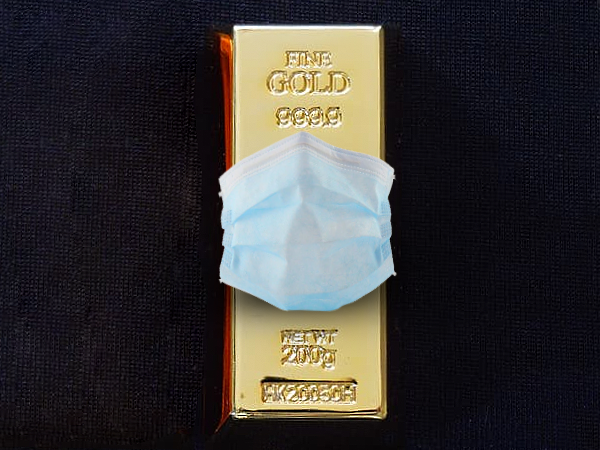 coronavirus gold prices