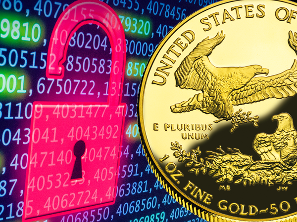 Buy gold amid cyber terrorism