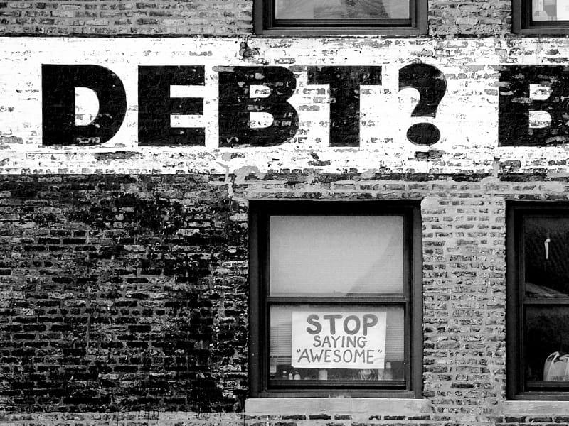 global debt massive defaults