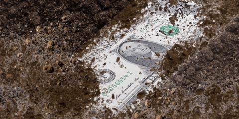 dollar losing dominance