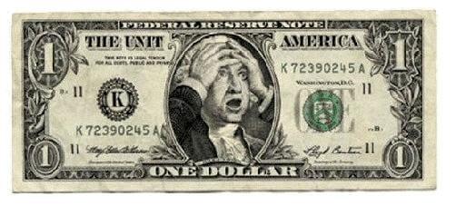 shocked george washington dollar bill