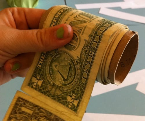 the dollar as valuable as toilet paper this is how it