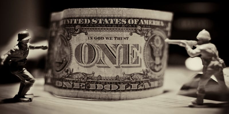us dollar currency war