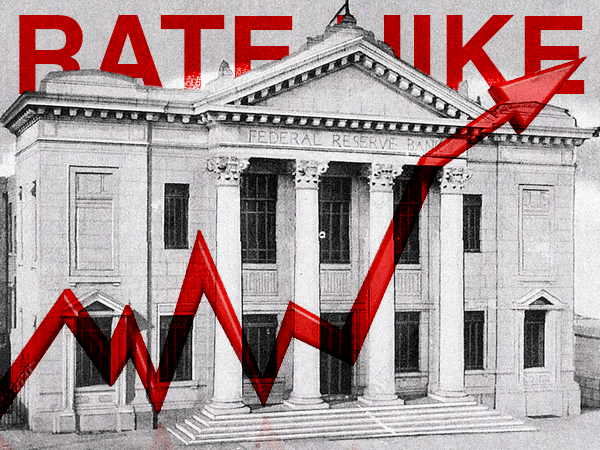 hawkish fed raises rates for 8th time