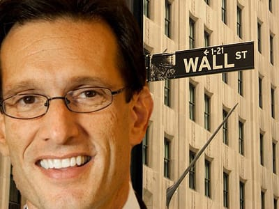 eric cantor wall street free market