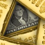 falling dollar good for gold