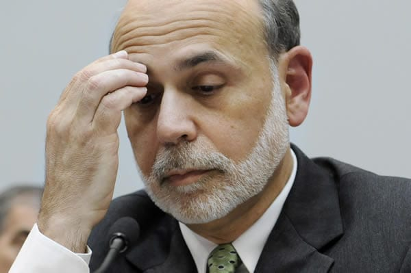 ben bernanke dollar destruction