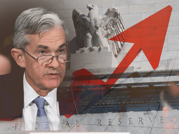jerome powell raises rates