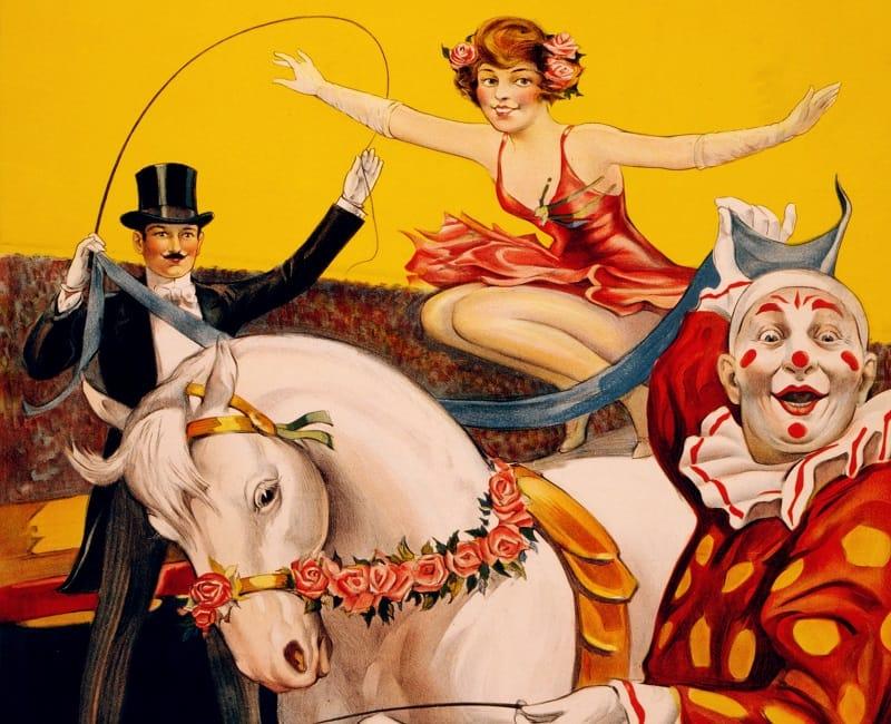 gentry bros circus act