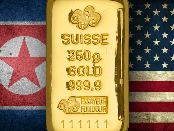 Geopolitical risk helps gold