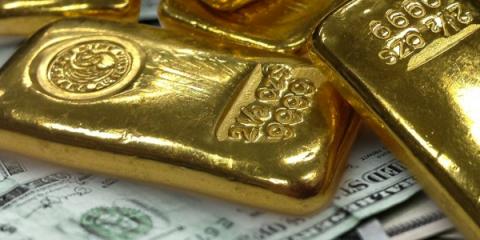 gold bullish from anti-dollar