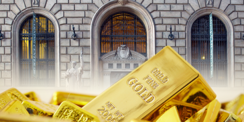 gold central bank dollar