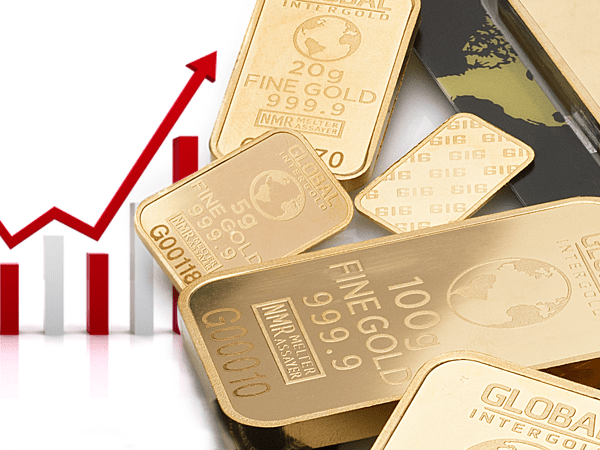 gold price up in 2018