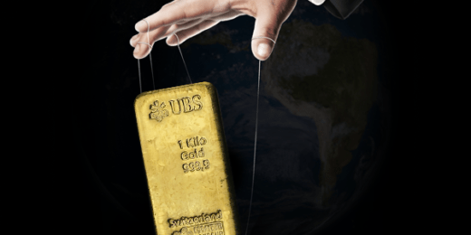 gold's real value is manipulated